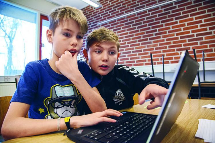 Fokuserede elever