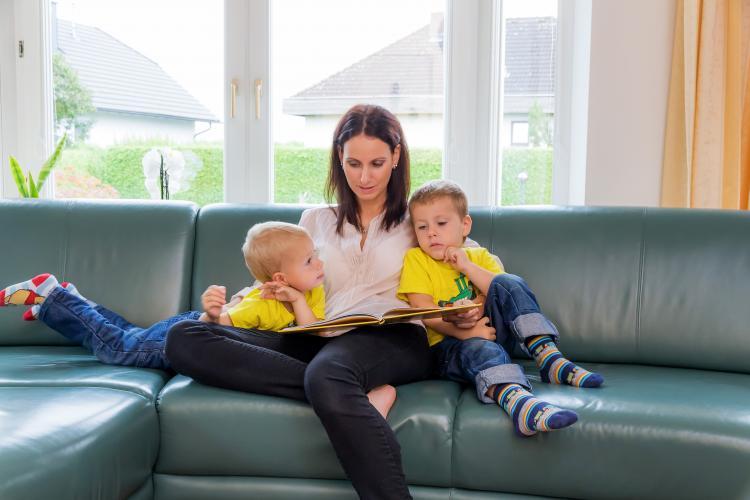 Højtlæsning er vigtig for børns læsefærdigheder