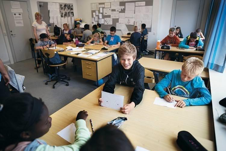 Et klasseværelse